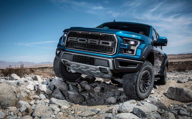 Ford apresenta novo controle de trilhas off-Road para a F-150 Raptor e Ranger 2019
