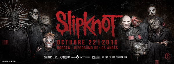 Slipknot-Colombia
