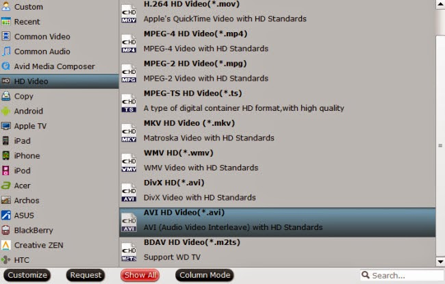 How To Blu-ray/DVD to AVI HD via WD Elements play