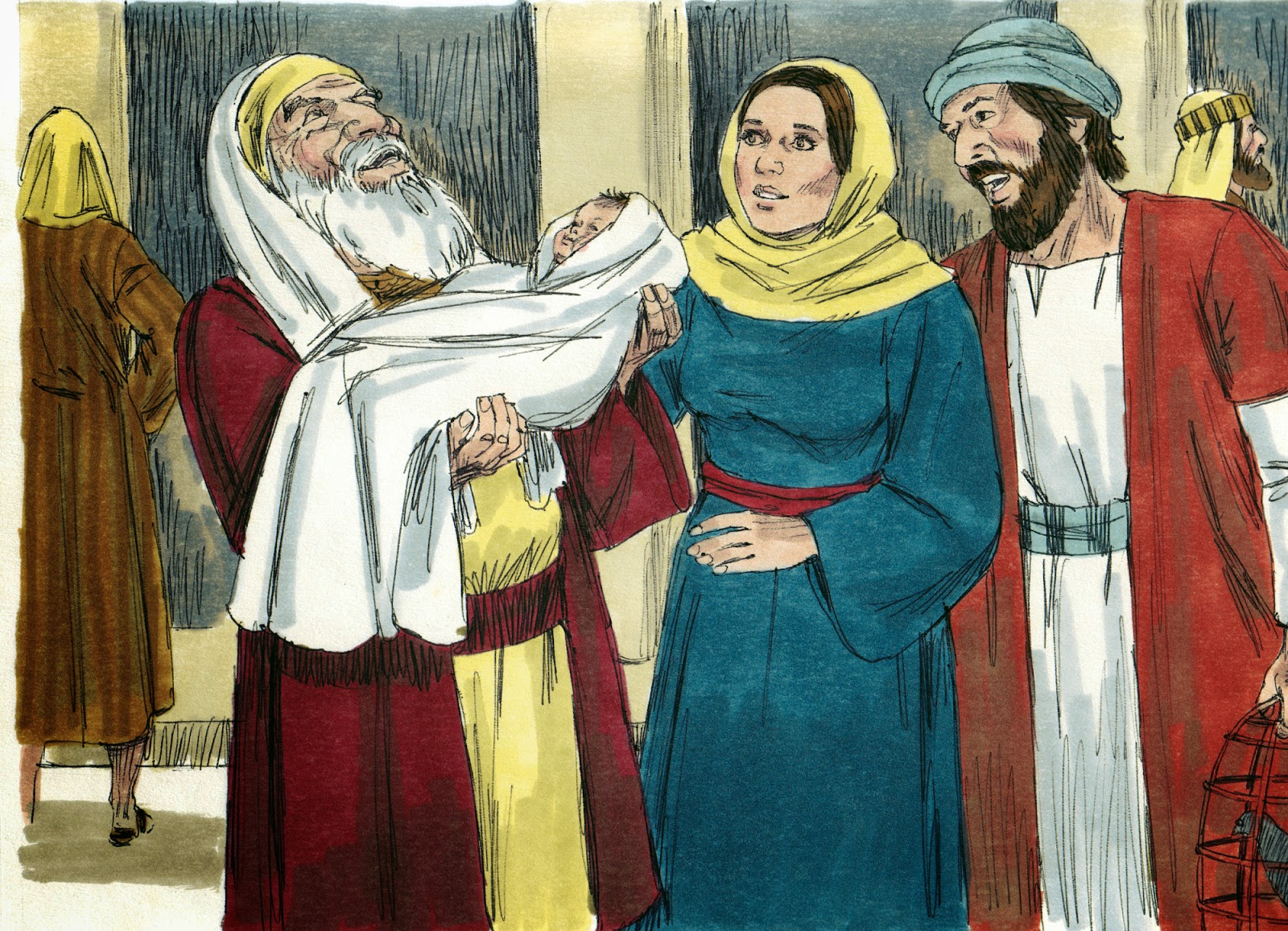 Bible Fun For Kids: Simeon & Anna See Jesus & The Wise Men Bring ...