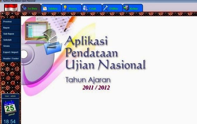 Download Aplikasi Pendataan Ujian Nasional Offline 2015 Untuk Jateng