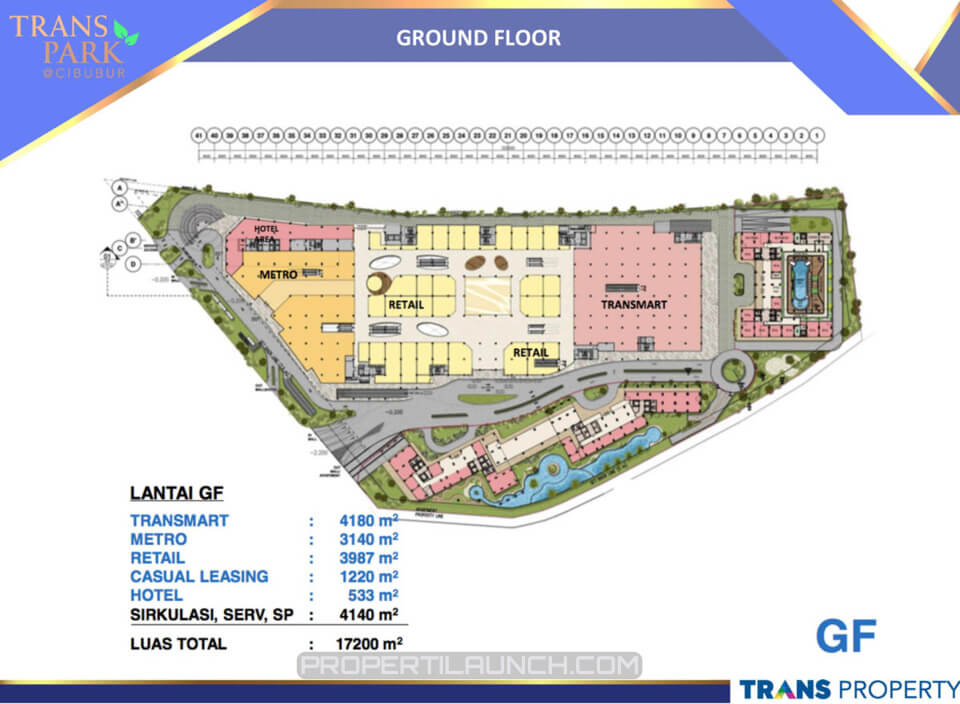 Ground Floor Trans Park Cibubur