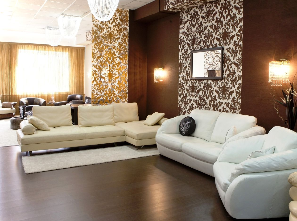 Brown living room ideas decorating with modern furniture | Home ...