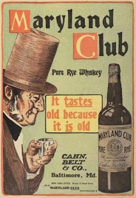Anuncios antiguos de Whiskey