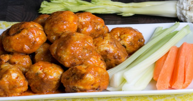 Buffalo Chicken Meatballs Recipe
