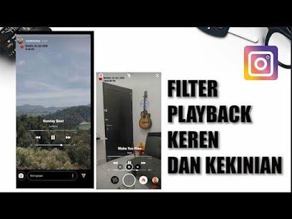 Cara Menambahkan Filter Musik Playback di Instagram