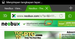 IMG 20170211 092815 Cara mudah klik iklan Neobux di Handphone Android