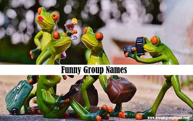 Funny Group Names