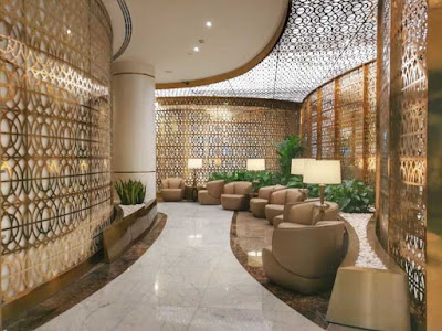 Source: Oman Air. The new premium lounge at Muscat International Airport.