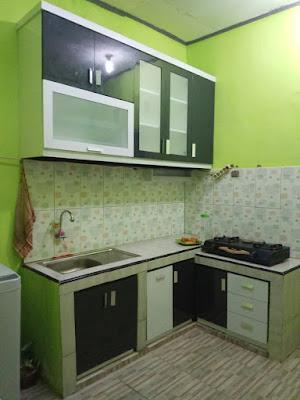 Kitchen set Minimalist Dapur Kecil | Tambun Bekasi