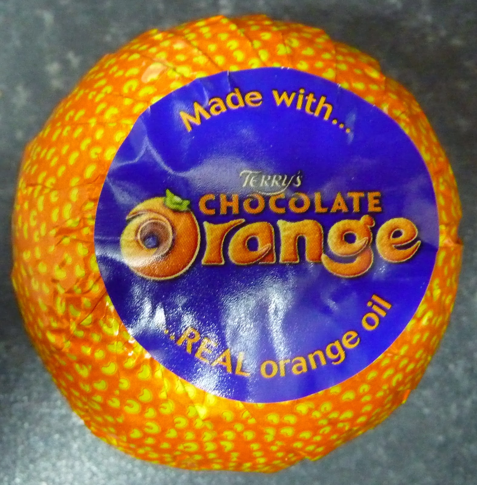 Something to look forward to: Terry's Chocolate Orange: White