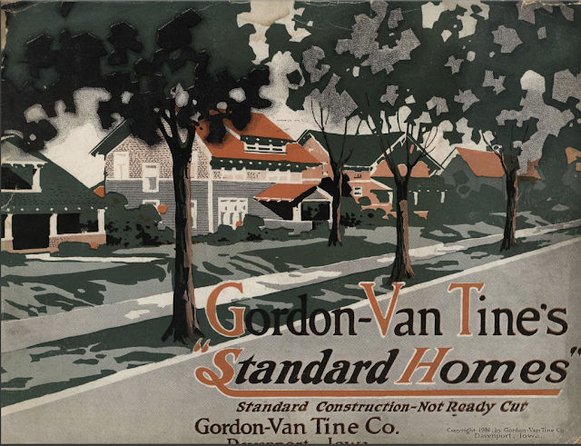 Gordon-Van Tine Standard Homes 1916 catalog cover