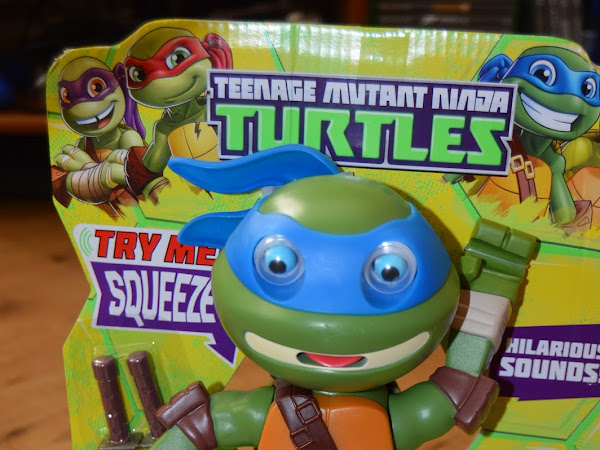 TMNT Half Shell Squeeze 'Ems Review