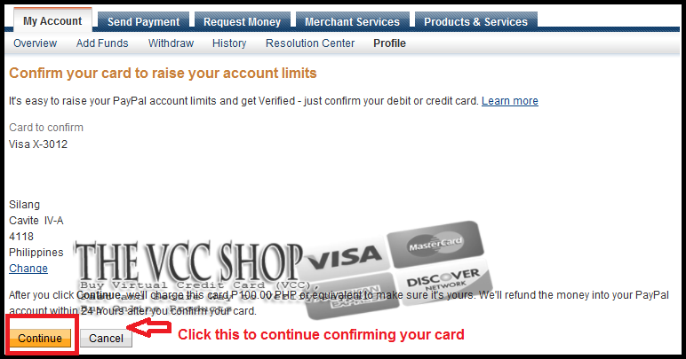 Step by Step How To Verify Your PayPal Instruction :: The