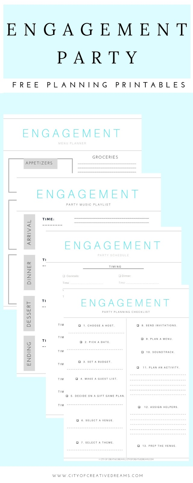 ultimate wedding planning checklist city of creative dreams