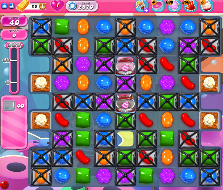 Candy Crush Saga level 2570
