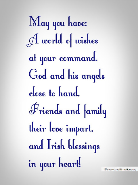 Be Positive Quotes Wallpaper 10 Irish Blessings Everyday Affirmations