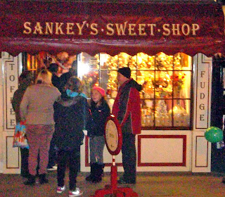 Brigg Christmas Lights 2013 - Sankeys sweet shop