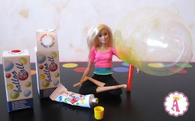 Барби безграничные движения и нелопающиеся мыльные пузыри plastic bubbles