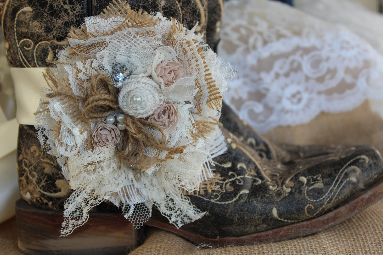 Corsage - brooch - flower pin