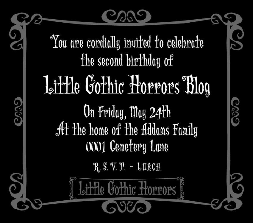 Little Gothic Horrors: May 2013