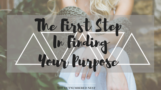 The First Step is always the hardest, here is yours for finding your purpose.