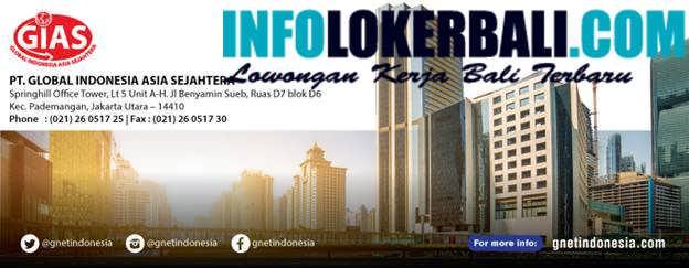 Info Lowongan Kerja PT. GLOBAL INDONESIA ASIA SEJAHTERA Juni 2019