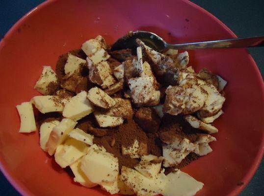 làm socola - đun nóng socola