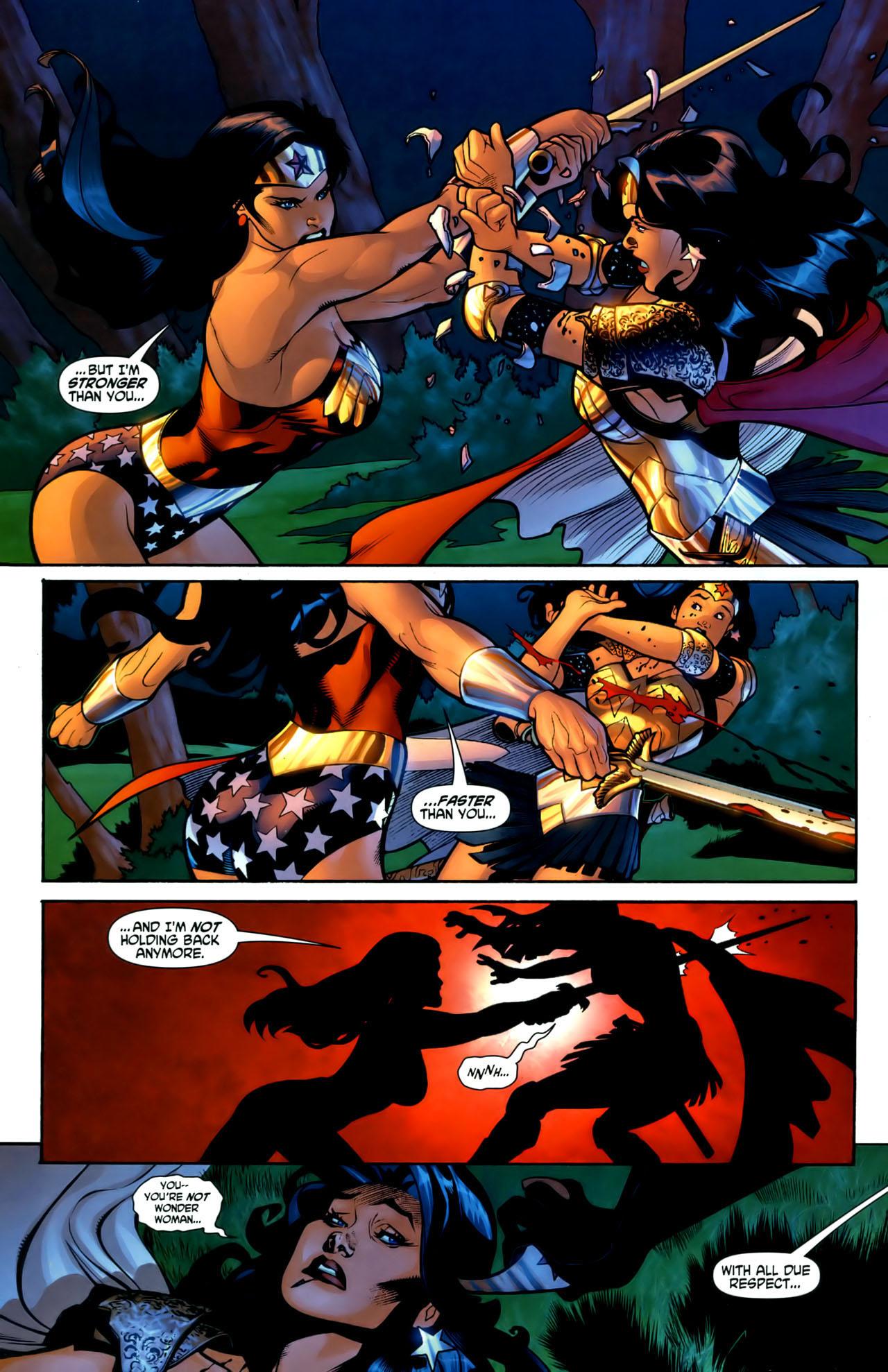 Read online Wonder Woman (2006) comic -  Issue #1 - 20
