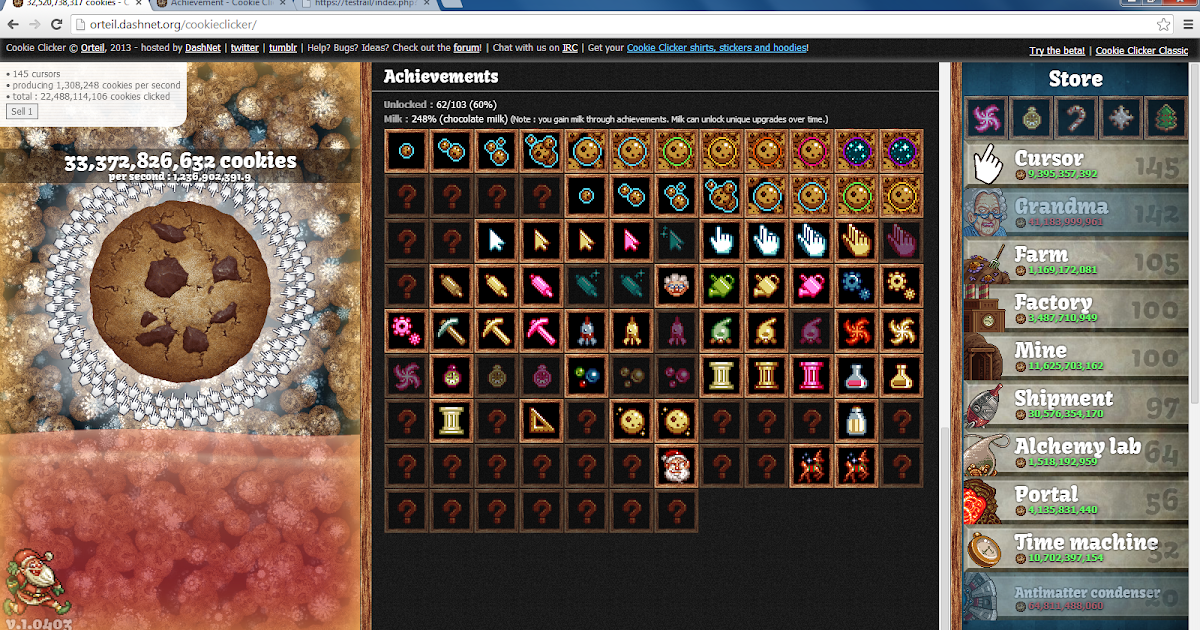 Press Play: Cookie Clicker