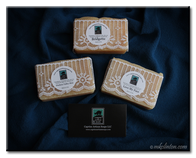 Caprine Artisan Goat Milk Soaps are fabulous