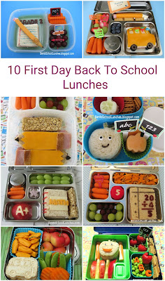 10 First Day Back To School Lunches