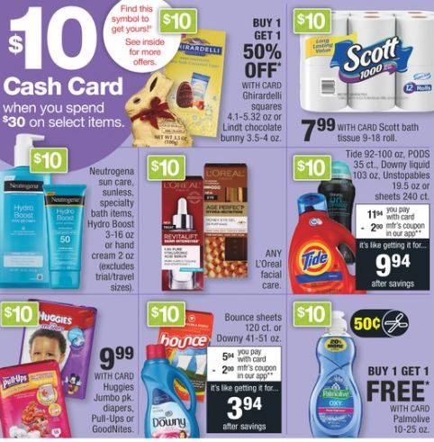 cash card cvs