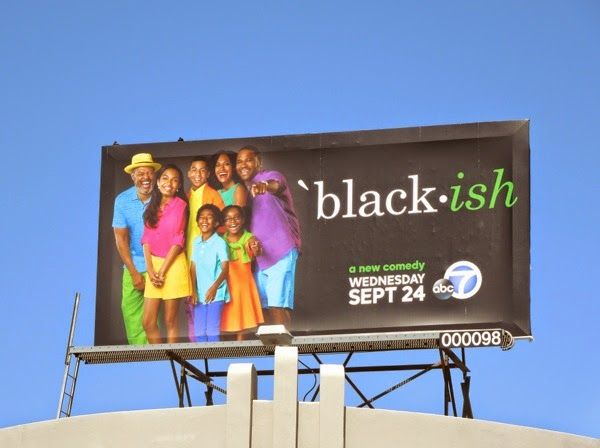 Blackish series premiere billboard