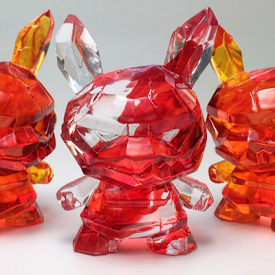 "Shard Spark Edition Dunny 3"" Resin Figure by Scott Tolleson"