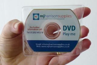 Video DVD business card