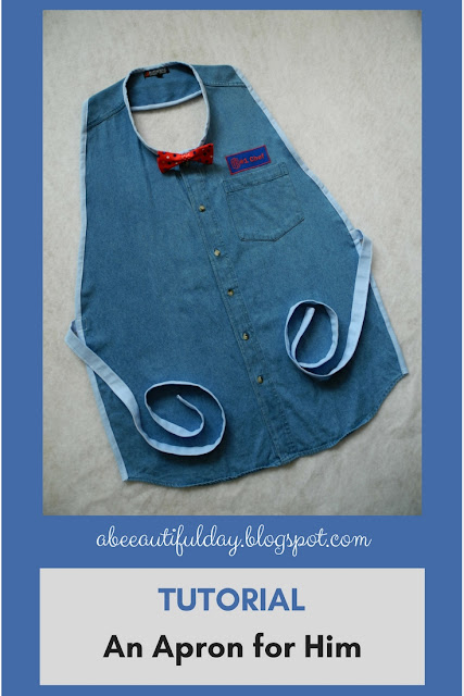 Tutorial-An Apron for him-abeeautifulday.blogspot.com