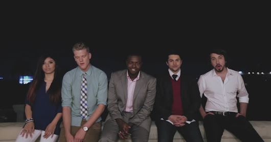 "Song of the Month: ""Valentine"" by Pentatonix"