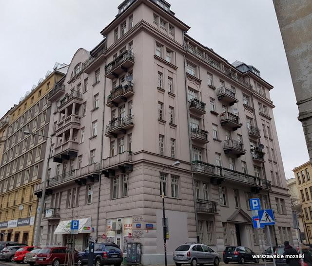 Warszawa Warsaw warszawskie kamienica kamienica niebotyk
