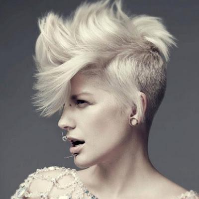 potongan model rambut wanita mohak tahun 2016