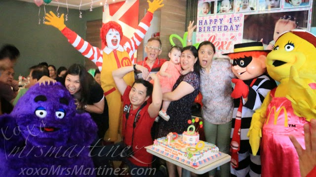 A Mccelebrations Birthday Party At Mcdonald S Xoxo