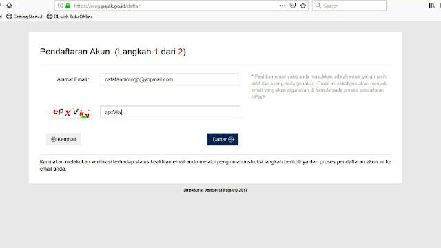 Akun NPWP Online