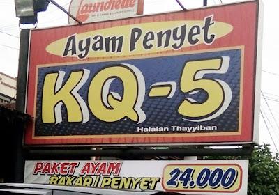 Nama Masakan Ayam yang Bikin Geli dan Ngeri