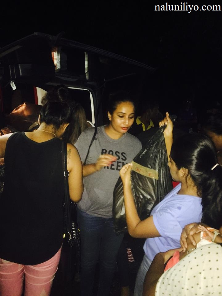 Piumi Hansamali Nipuni Wilson helping people aranayake