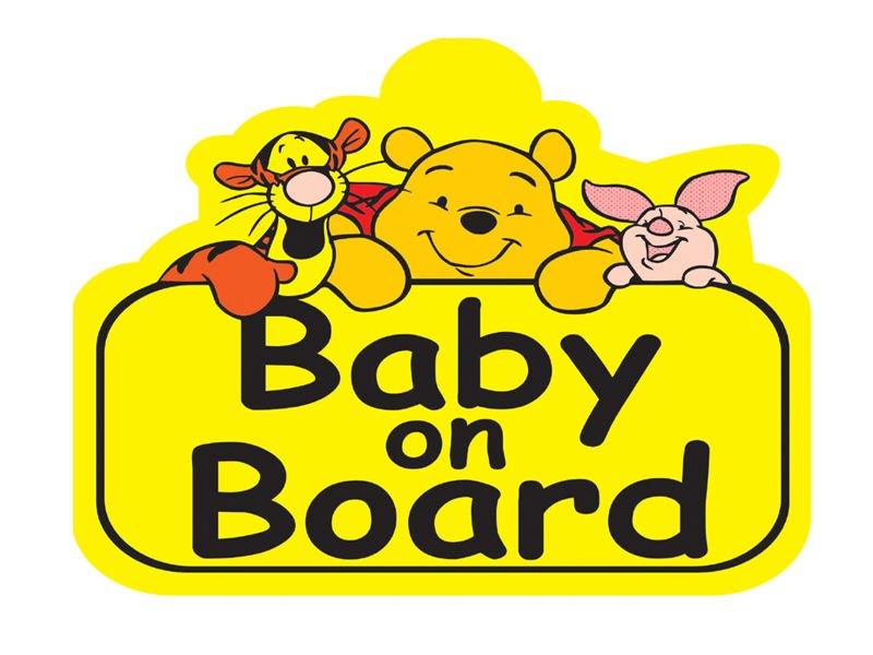 why baby on board stickers make no sense