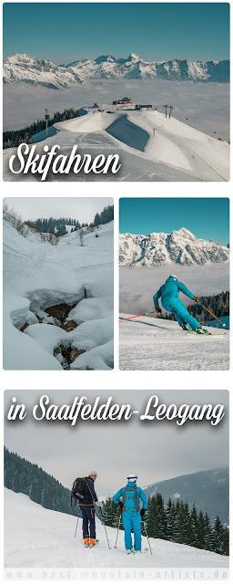 Skifahren in Saalfelden-Leogang