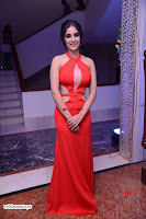 Alankrita new actress in Red Deep Neck Gown Stunning Pics ~  Exclusive Galleries 001.jpg