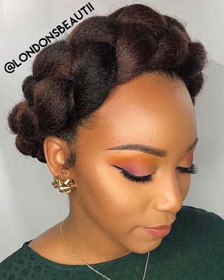 We all know that Halo braids are a Stunning hairstyle that has been a should 21+ Unique Halo Braid Hairstyles Ponytails On Natural Hair To Copy