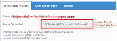 Cara Membuat Wallet BitCoin Cash Pecahan BitCoin