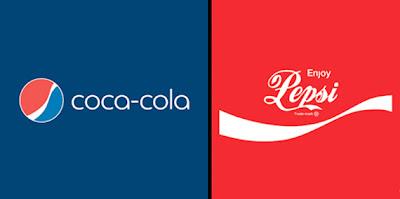 bromas de marcas famosas Pepsi y coca-cola